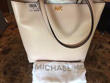 NWT MICHAEL Michael Kors Mott Medium Leather Tote Bag Soft Pink 30F7G0XT2L