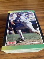 (100) 1989 Donruss Roberto Alomar #246 San Diego Padres NR-MT+ Recent Set Breaks