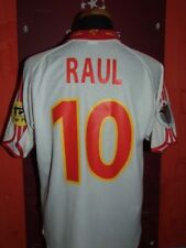 RAUL SPAIN SPAGNA EURO 2000 MAGLIA SHIRT CALCIO FOOTBALL MAILLOT JERSEY SOCCER