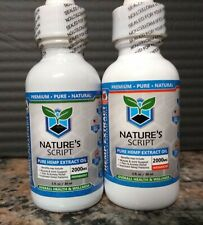 Nature's Script 2000 Mg Hemp Oil