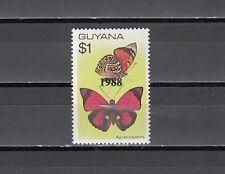 Guyana, Scott cat. 1912. Butterfly definitive o/printed 1988
