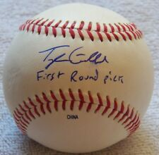 LA Dodgers Tyler Goeddel Auto ROMILB Rawlings Baseball Ins. First Round Pick