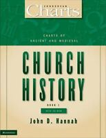 ZondervanCharts: Charts of Ancient and Medieval Church History by John D. Hannah