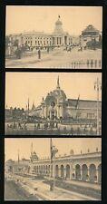 Belgium GAND Exposition Internationale 1913 x6 PPCs
