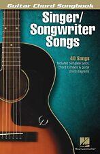 SINGER / SONGWRITER GUITAR CHORD & LYRIC SONGS SHEET MUSIC SONG BOOK