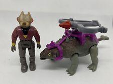 Ankylosaurus Dino Riders Serie 1 Tyco Siso Vintage Actionfigur Komplett Top !