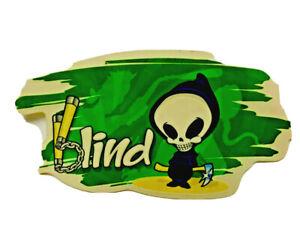 blind, Skateboard Sticker, Manufacturers Dealer Window Display, Series 335-42221