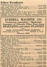 1946 Curbell Machine Co Elmwood Ave Buffalo 7 Ny Delaware Ad