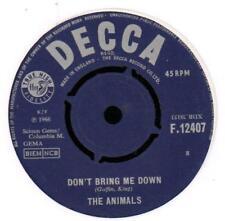 "The Animals(7"" Vinyl)Don't Bring Me Down / Cheating-Decca-F 12407-UK-Ex-/Ex"