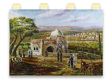 """Tapestry Kever Rachel by Alex Levin Textile Art Wall Hanging 24"""" x 36"""""""