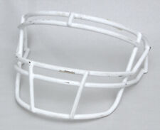 Pre-owned Schutt Super Pro ROPO Adult Football Helmet Facemask (White)