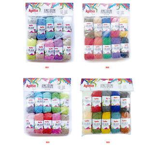 Katia Amigurumi pack of 10 x 10 gramme balls 100% cotton