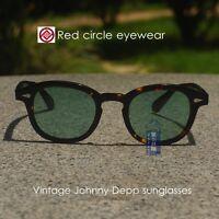 17ff2cc509 NWT New Mens Johnny Shades Cancun II Sunglasses White Frames Blue Mirrored  Lens
