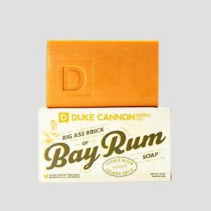 Duke Cannon Bay Rum Big Ass Brick of Soap for Men 10 oz  Made USA Citrus Musk