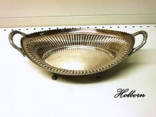 Walker and Hall Silver Plate, Antique Bread Basket Pattern 5978A, c1907.