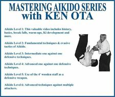 MASTERING AIKIDO Series (6) DVD Set fundamental defensive advanced techniques