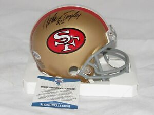 San Francisco 49ers John Taylor Signed Autographed Mini Helmet