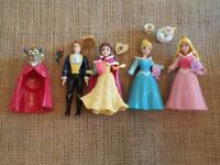 Polly Pocket Disney Princess Belle Beauty and the Beast Wedding Lot  L15
