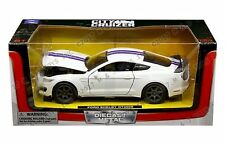 NEWRAY 1:24 W/B 2016 FORD SHELBY GT350R DIE-CAST CAR SS-71833WH