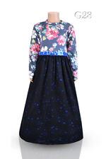 Girls Modest Dress - Abaya - Jilbab - Ages  5-6, 7-8, 9-10, 11-12, 13-14