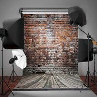 BA_ 1.5x2.1m 3D Retro Brick Wall Background Studio Photography Photo Backdrop Ca