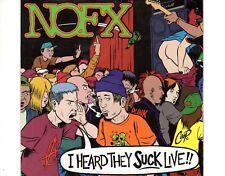 CD NOFXI heard they suck liveVG++  (A0301)
