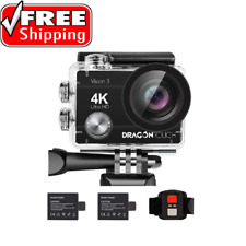 Vlogging Action Camera 4K HD With Accessories Kit Vlog Youtube Bundle Set Watch