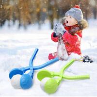 Cute Football Snowball Clip Kids Winter Outdoor Sports Snow Sand Mold Fight TBJH
