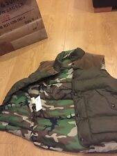 BNWT AUTHENTIC RALPH LAUREN DENIM & SUPPLY REVERSIBLE KHAKI DOWN GILLET SIZE  S