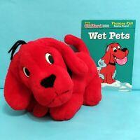Clifford The Big Red Dog Plush Stuffed Animal Toy w/ Book Scholastic Bridwell
