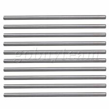 10 x Diameter 4mm  Machine Boring Tool HSS Round Lathe Bit Bars Silver HRC58-62