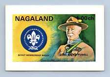 Nagaland Lord Baden Powell, Scouts MNH Imperf M/S #M700