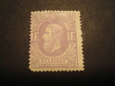 Belgium #36 Mhr Og Cv $400.00 An Awesome Sound Stamp Rarely Seen Free Shipping