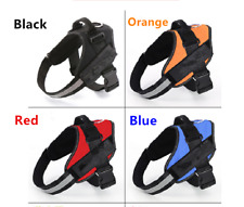 Power harness strong adjustable reflective dog puppy harnesses