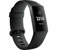 FITBIT Charge 3 - Black & Graphite, Universal
