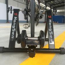 "Heimtrainer MAGNETBREMSE Fahrradtrainer Home Fitness Bike Rollentrainer 24"" -27"""