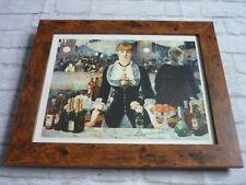 Framed ORIGINAL card poster print Edouard manet un bar aux folies bergere1882