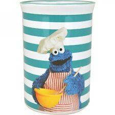 SESAME STREET Cookie Monster Utensils jar Blue Fun gift Muppets New