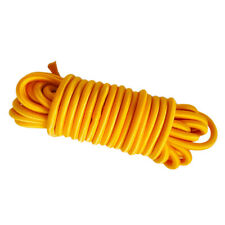 10m 4mm Elastic Shock Cord Bungee Rope String for Marine Kayak Boat Yellow