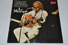 Georges Moustaki - Le Meteque - 70er - Album Vinyl Schallplatte LP