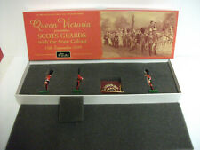 BRAND NEW BOXED BRITAINS 5991 SCOTS GUARDS COLOUR PARTY WITH STATE COLOUR 1899