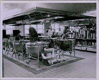 LG773 1952 Orig Herbert Stier Photo CLASSIC KITCHEN Boston VA Hospital Workers