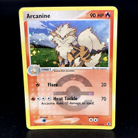 Arcanine Reverse Holo - EX Fire Red & Leaf Green 18/112 - Rare Pokemon Card
