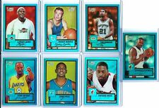 LEBRON JAMES & RARE ENTIRE SET 2005-06 TOPPS STYLE CHROME BLUE REFRACTORS / 149