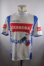 Carrera Boys Vagabond VINTAGE CYCLING JERSEY BIKE Ruota Maglia Tg. 6 57cm u5