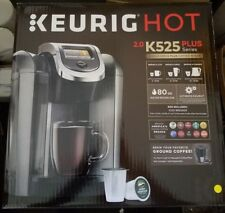 Keurig K525 Single Serve K-Cup Pod Coffee Maker 12oz Brew Size  Platinum