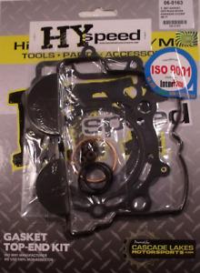 HYspeed Top End Head Gasket Kit W/ Valve Cover Gasket KAWASAKI KX250F 2009-2016