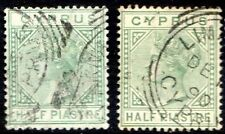 Royalty Victorian (1840-1901) Cypriot Stamps