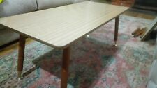 Vintage 1960's & 1970's  Timber & Laminate Coffee Table Danish Parker Style