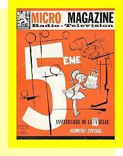 MICRO MAGAZINE 707 (26/10/58) WILL FERNANDEL JEAN GABIN JEAN COCTEAU BECHET